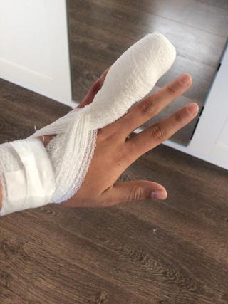 Marinas Finger neu verbunden