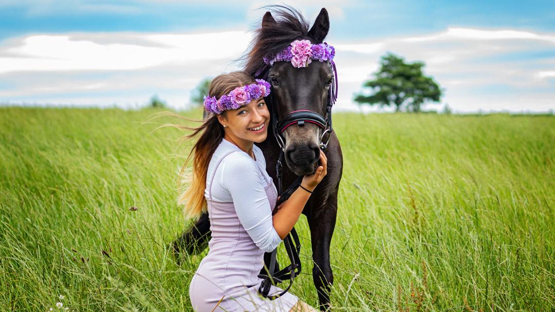Marina und die Ponys Schülerkalender 2021/2022